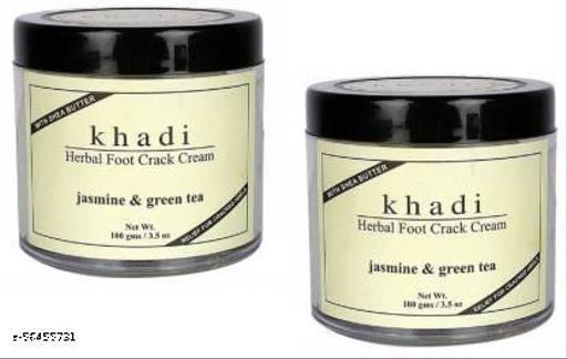 Khadi Herbal FOOT CRACK CREAM(JASMINE & GREEN TEA)200mg(200 g)