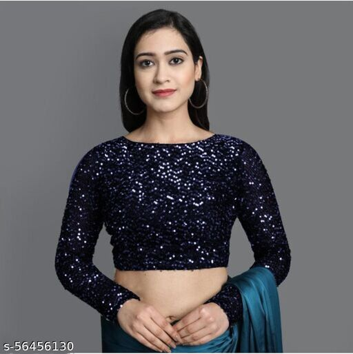 Deepika Sequenced Blouse