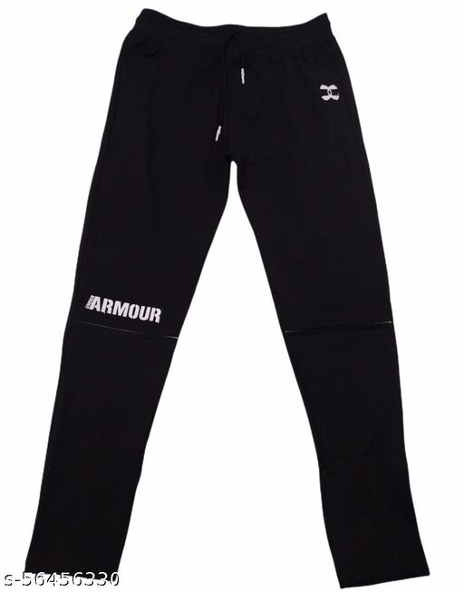 Latest Men Track Pants (Black)