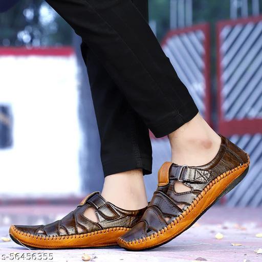 LishTree Roman Sandals $Driving Sandals for mens
