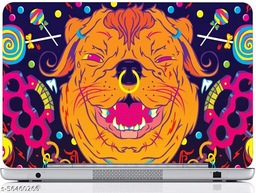 Laptop Skin Sticker || Fits for all models (Up to 15.6 inches) Design-013 PVC (Polyvinyl Chloride) Laptop Decal 15.6 - 026