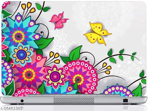 Laptop Skin Sticker || Fits for M) Design-013 PVC (Polyvinyl Chloride) Laptop Decal 15.6 - 096