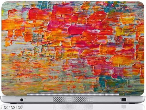 Laptop Skin Sticker || Fits for M) Design-013 PVC (Polyvinyl Chloride) Laptop Decal 15.6 - 092