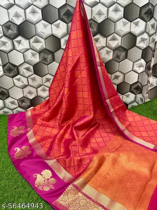 New bridle katan saree
