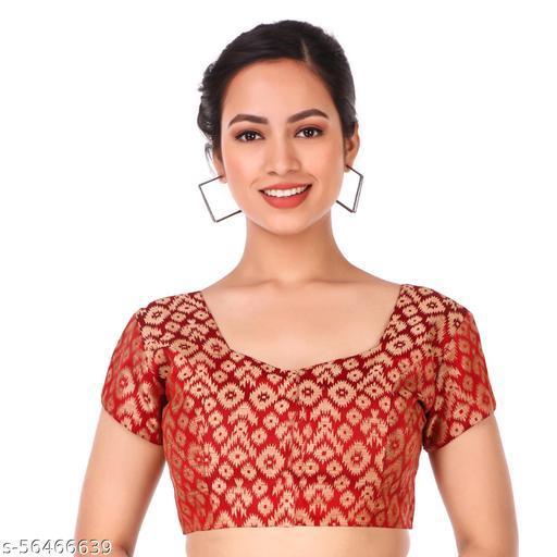 SEW HAUTE Stylish Womens Readymade Fully Stitched Saree Blouse