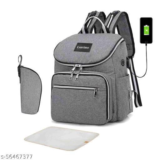 MP 21 Diaper Bag Grey