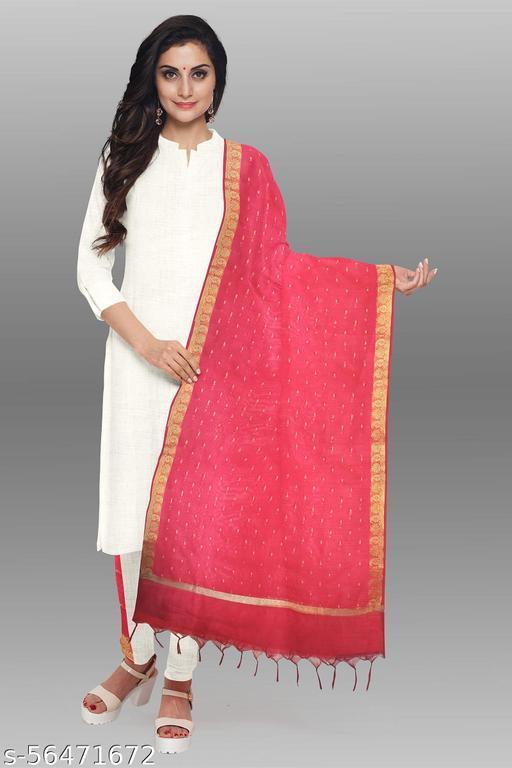 Womens chandery silk Banarasi  Dupatta Chunni