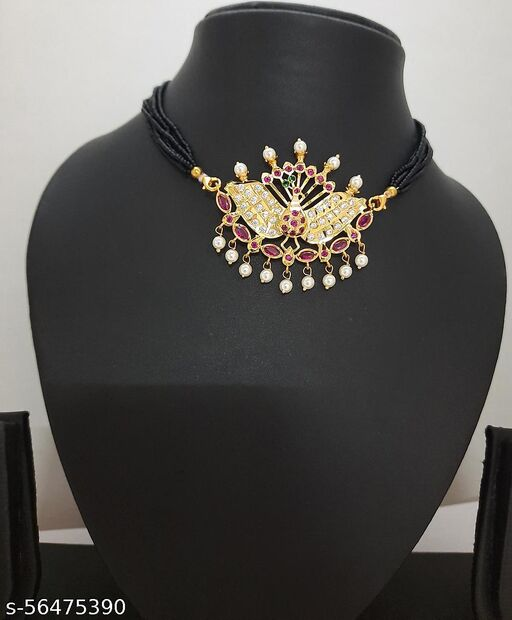 Designer Traditional High Gold plated Mangalsutra