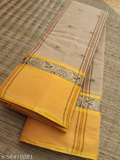 Pure Cotton Tant Saree (Tangail Quality)