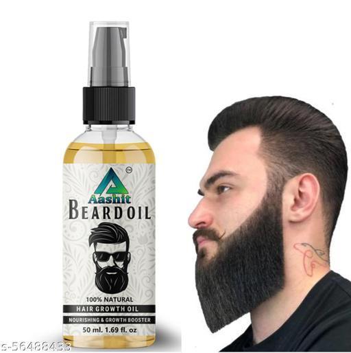 Aashit beard oil for man beard growth oil 50ml
