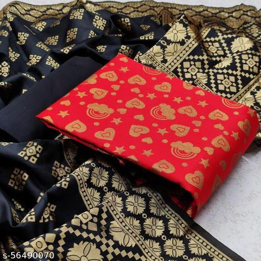 Adesh Enterprise Banarasi Silk Salwar Suit & Dress