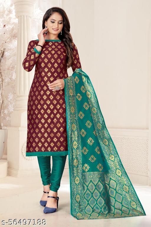 Adesh Enterprise banarasi Salwar Suit & Dress