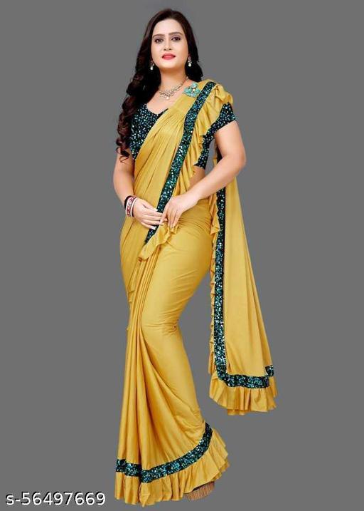 Heavy Malai  Silk sree