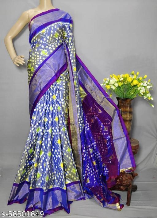 Pochampally pure ikkat silk saree