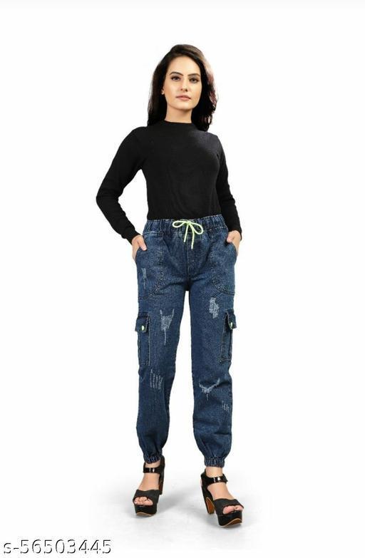 DENIM 6 POCKET FUNKY CARGO jeans