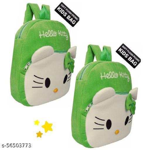 ZAANIX hello kitty kids bag for kids under age (2-6 years) play/nursery WITH EXTRA SOFTNESS.