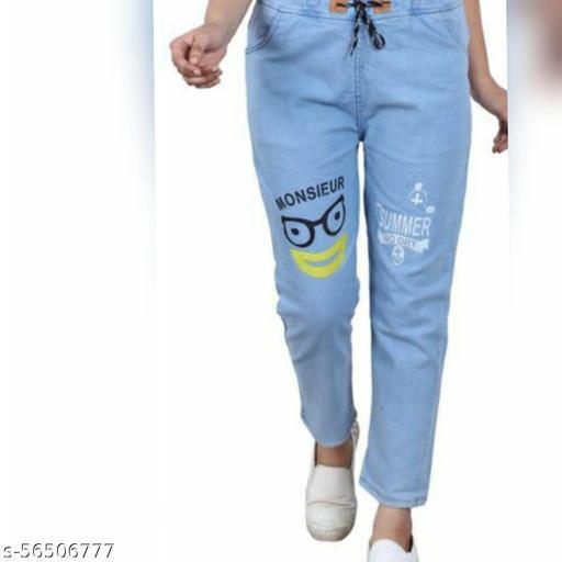 Desi Style Glamorous Women Jeans/Joggers For Girls
