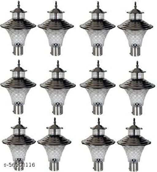 Outdoor Gate Light Pack of 12