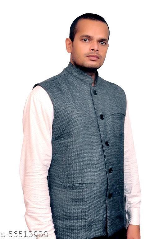 SHEEN CREATIONS Mens Stylish Formal Sadri Jacket