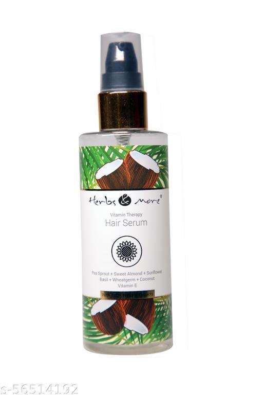 Herbs & more vitamin therapy hair serum
