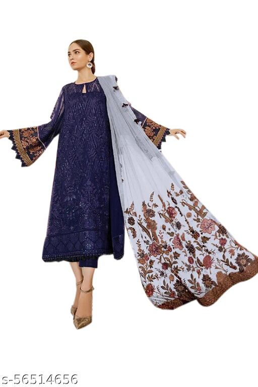 Myra Petite Semi-Stitched Suits
