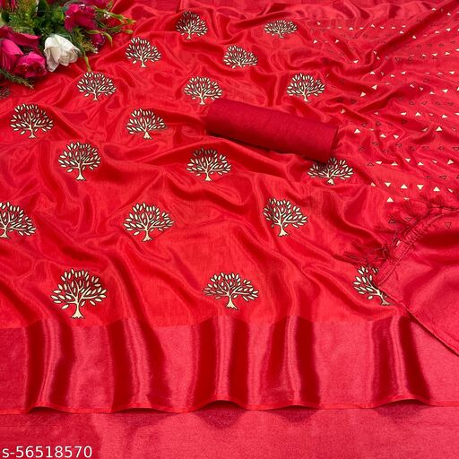 Fancy Batik Print Silk Saree