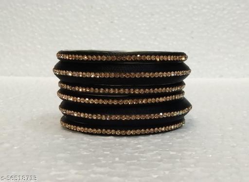 HEENAZ Fancy Brass Ring With Threading Work