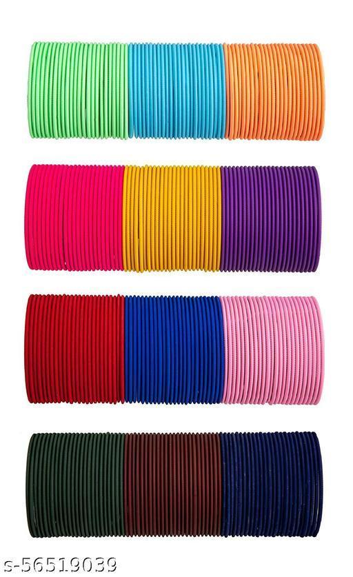 Multi-Color Bangles Set of 24 Per Color