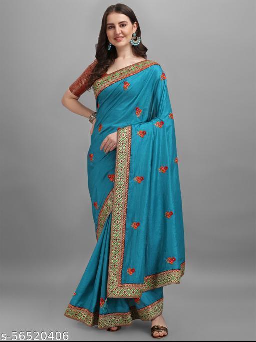 Beautiful Designer Embroidery Sarees