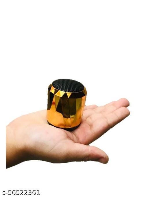 Super Ultra 3 Watt Wireless Bluetooth Portable Speaker (Black)