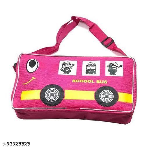 BUS SHAPE TRAVEL BAG  KIDS SLING BAG  BUS SHAPE BAG SIDE BAG