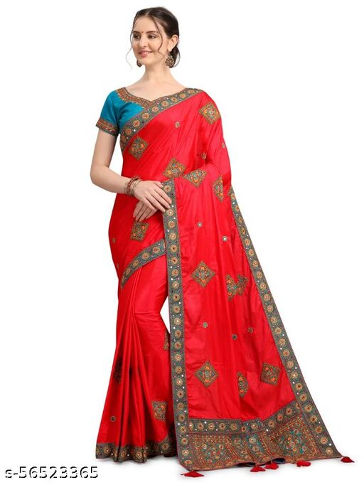 new launched embroidery design SINDURI sarees 011302