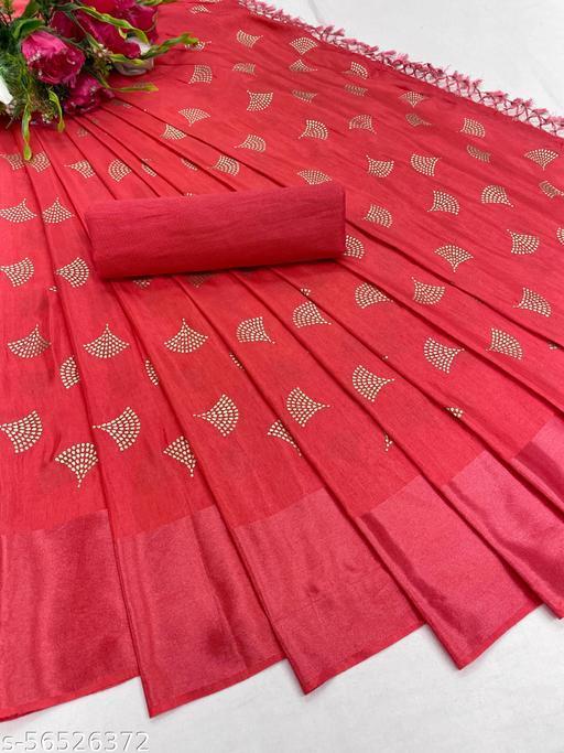 Fancy Batik Print Dola Silk Saree