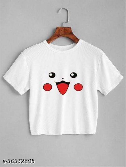 Women's wear crop Tshirt