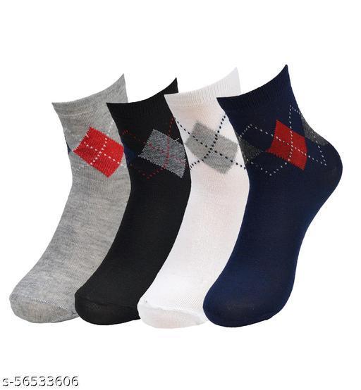crux&hunter cotton mens socks pack of 4