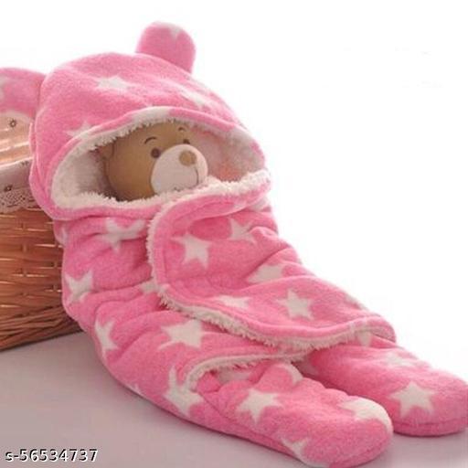 NewBorn Baby Boy's and Baby Girl's 3 in 1 Fleece Blanket/Safety Sleeping Bag 0-12 MONTH BABY