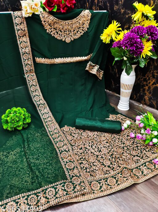 Kashvi Graceful Semi-Stitched Suits