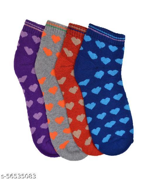 crux&hunter cotton womens warm socks pack of 4