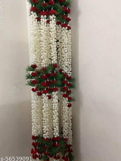 Vimicart Artificial fhool mala pack of 2