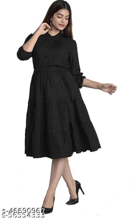 NEW DESIGN Dresses BLACK