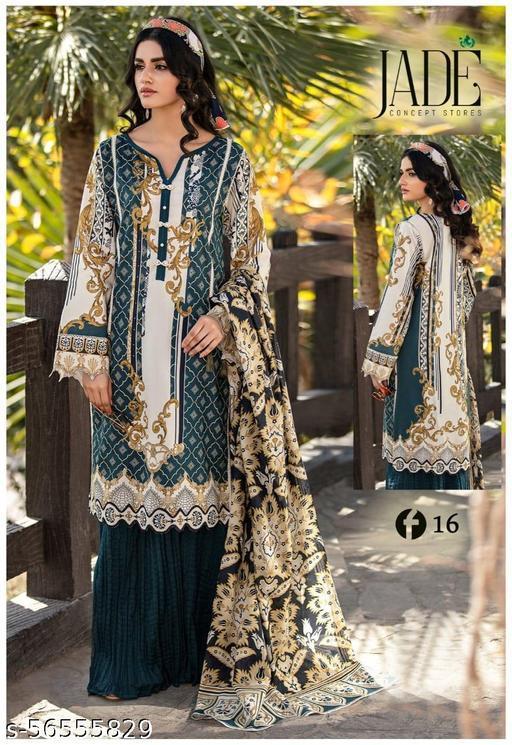 Jivika Fashionable Salwar Suits & Dress Materials