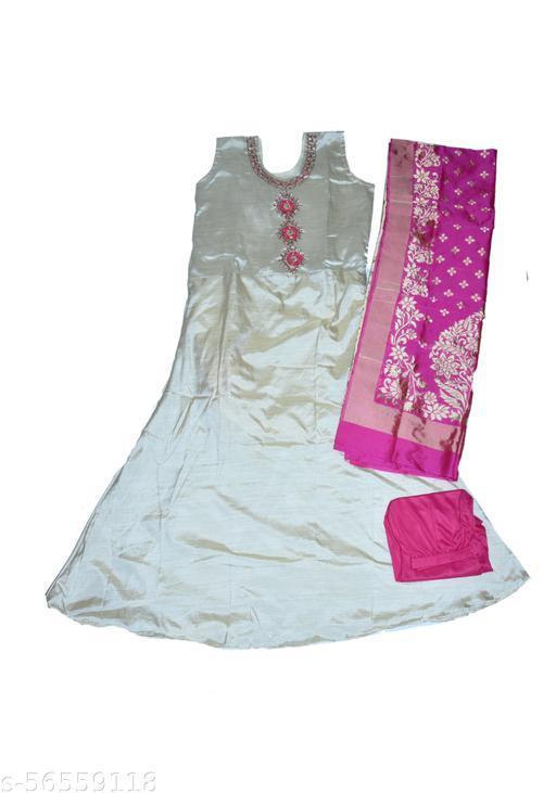 Soft silk Gown