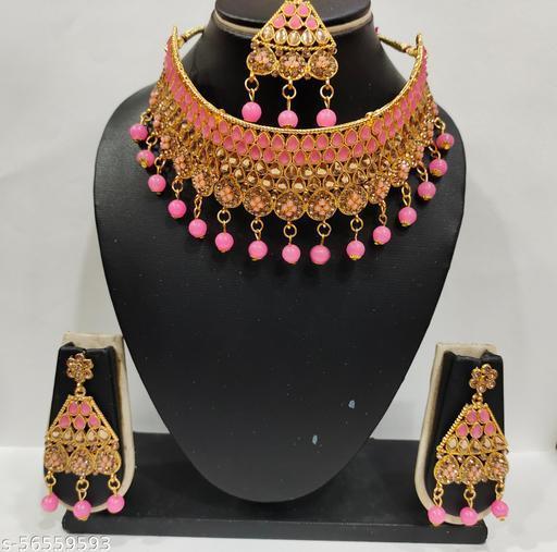 Radhika art jewellery kundan necklace set