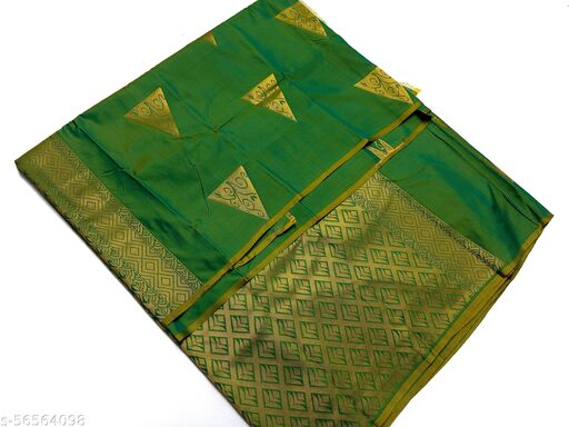 NT Soft Silk Cotton saree with Rich Pallu with blouse