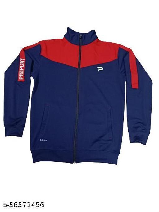 Preport Blue Lycra Gim Wear Jacket
