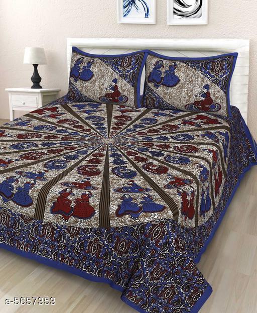 New Attractive 100X90 Bedsheet