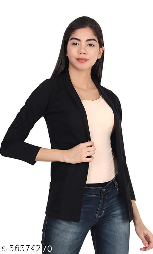Swiftly Women's Pure Cotton Pocket Shrug