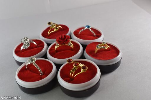 7 Adjustable Ring Combo