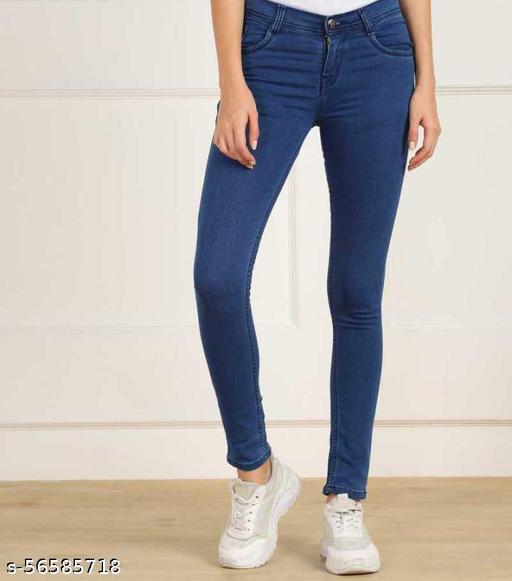 Stylish Women Skinny Fit Jeans