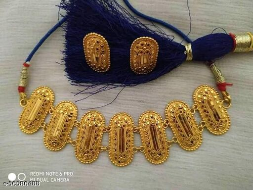 Chocker necklace gold plated best quality